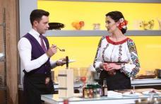 """Georgiana Spînu și Marian Istrate, doi tineri din Dorohoi, au gătit la emisiunea """"Chefi la cuțite"""" - FOTO"""