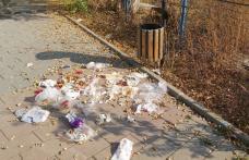 """Primim la redacție – """"Rugăm organele abilitate să schimbe coșul de gunoi cu unul acoperit"""""""