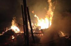 Incendiu devastator la o gospodărie din Vorniceni. Proprietara a suferit un atac de panică - FOTO