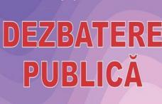 """Primăria Dorohoi: Dezbatere Publică privind aprobarea """"Strategiei de dezvoltare a serviciului de iluminat public"""""""