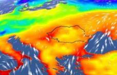 Val de aer tropical în România. Noi recorduri de temperatură