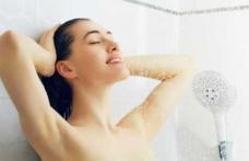 Greșeli pe care multe persoane le fac la duș