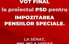 Comunicat - PSD de ține de cuvânt și va vota în Parlament renunțarea la indemnizațiile speciale!