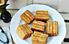 Prăjitură cu foi din suc de roșii