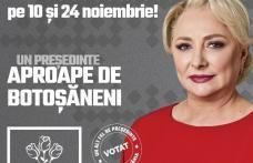 Comunicat - 10 motive pentru a vota PSD și Viorica Dăncilă pe 10 și 24 noiembrie!