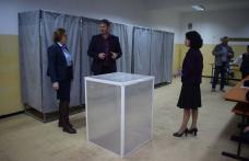Verificări ale prefectului în secțiile de votare - FOTO