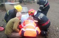 Intervenție dificilă pentru pompierii botoșăneni. Femeie căzută într-o fântâna adâncă de 17 metri! - FOTO
