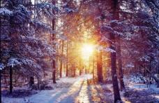 ANM: Iarna aceasta va fi mai caldă decât în mod normal, dar nu sunt excluse episoade de ger și viscol