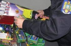 """Acțiunea """"Foc de artificii"""" continuă. Vânzătorii de petarde și artificii, în vizorul polițiștilor"""