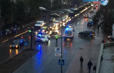 Femeie lovită de mașină pe o trecere de pietoni de pe Bulevardul Victoriei din Dorohoi - FOTO