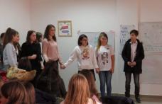 """Problema încălzirii globale dezbătută de elevii Liceului """"Regina Maria"""" - FOTO"""