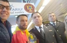 Iulian Rotariu, câștigătorul ultramaratonului de 220 km din Mozambic, a pășit pe pământ romanesc, în urma cu puțin timp!