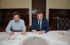 A fost semnat contractul de execuție lucrări pentru Zona de agrement POLONIC - FOTO