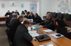 Ședința Autorității Teritoriale de Ordine Publică, desfășurată la sediul Jandarmeriei Botoșani