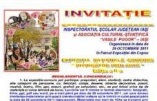 """Unităţile de învăţământ sunt invitate să participe la expoziţia concurs """"Învingător prin artă"""""""
