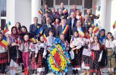 """Moment artistic destinat Zilei Naționale a României la """"Centrul de zi"""" din cadrul Primăriei Comunei Ibănești - FOTO"""