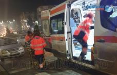 Accident în Dorohoi! O femeie însărcinată a fost rănită și transportată la spital – FOTO