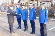 Jandarmi recompensaţi cu prilejul Zilei Naţionale a României