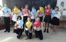 Ziua Națională a României sărbătorită de elevii Școlii Gimnaziale Hilișeu-Horia - FOTO