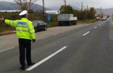 Polițiști și jandarmi într-o acțiune de amploare pe drumul Dorohoi-Botoșani