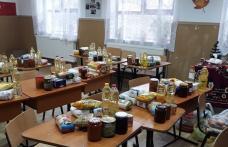 """Săptămâna legumelor și fructelor donate la Școala Gimnazială """"Gheorghe Coman"""" Brăești - FOTO"""