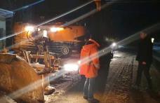 Prefectul Dan Șlincu a verificat intervenția după prima ninsoare care a creat probleme participanților la trafic - FOTO