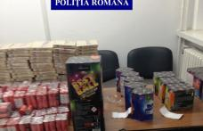 Dosare penale și amenzi pentru operaţiuni cu articole pirotehnice la Botoșani - FOTO