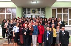 "Vârsta de aur a Şcolii Gimnaziale ""Spiru Haret"" Dorohoi - FOTO"