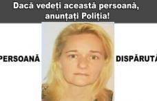 Femeie de 50 de ani dispărută după ce a plecat la cumpărături