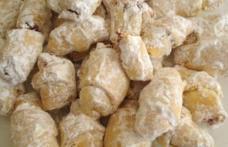 Cornulețe fragede cu iaurt