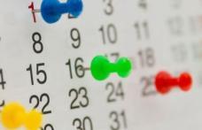 Zile libere: 27 decembrie 2019 şi 3 ianuarie 2020 declarate zile libere pentru bugetari