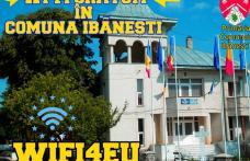 WI-FI gratuit în comuna Ibănești!