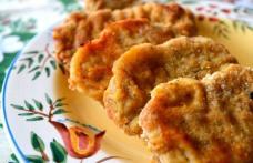 Cotlet de porc în crustă de pesmet - perfect pentru masa de Crăciun