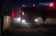Incendiu la Brăești! Intervenție a pompierilor dorohoieni în prima zi de Crăciun