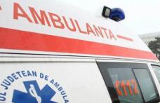 Tânără din Dorohoi ajunsă la spital după ce mașina în care se afla a intrat într-un podeț