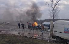 Plan Roșu de Intervenție în județul Botoșani: Accident rutier grav cu 11 victime - FOTO