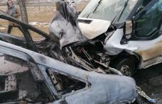 Opt ambulanțe și o autospecială pentru transport victime multiple trimise la accidentul de la Blândești - FOTO