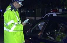 Mulțime de șoferi prinși băuți la volan. Unul dintre ei avea 1,04 alcoolemie