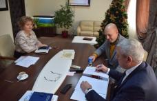 Proiect cu bani europeni, pentru o școală din Dorohoi demarat astăzi la CJ Botoșani - FOTO