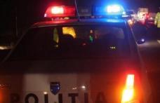 Șofer beat urmărit de polițiștii rutieri și cei de frontieră după ce a lovit un pieton și a părăsit locul accidentului