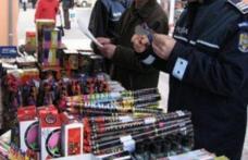 """Acțiunea """"Foc de artificii"""", la final. Patru persoane rănite și peste 340 kg de articole pirotehnice confiscate"""