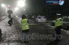 Două mașini s-au ciocnit pe Bulevardul Victoriei din Dorohoi. O fată a ajuns la spital – FOTO
