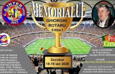 "Memorialul de fotbal ""GHIORGHI ROTARU"" organizat la Dorohoi"
