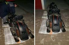 Motocicletă Harley furată din Italia, depistată la PTF Stânca - FOTO