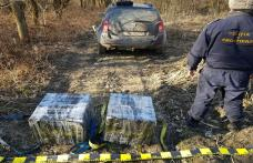 Ţigări de peste 28.000 lei confiscate la frontiera de est - FOTO