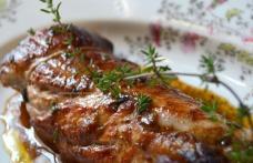 File de porc cu usturoi și ghimbir