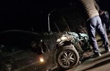 Accident teribil în județul Botoșani! O mașină a intrat cu viteză într-o turmă de oi - FOTO