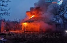 Incendiu la Dorohoi! O casă a fost cuprinsă de flăcări – VIDEO / FOTO