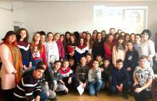 Luna ianuarie a reprezentat LUNA CULTURII în cadrul Școlii din Dumbrăvița - FOTO