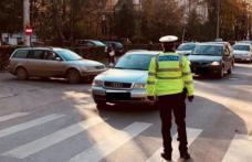 Șoferii care nu acordă prioritate, amendați de polițiști